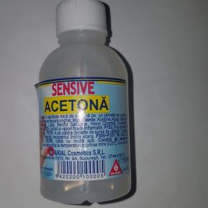 SENSIVE 50ML ACETONA PLASTIC