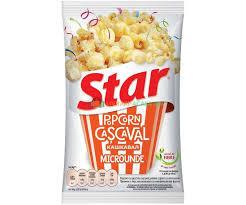 Star Popcorn pentru microunde - cascaval - 80Gr