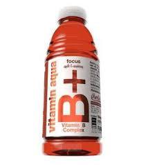 Aqua cu vitamine B12 Focus mere si zmeura 600ml