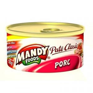 Mandy Pate Ficat Porc 120g