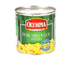 Porumb dulce in vid Olympia, 340 g