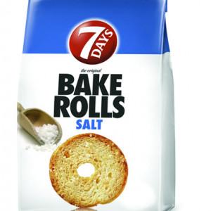 Rondele de paine cu sare Bake Rolls 80g 7Days