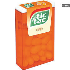 Tic tac. Drajeuri Orange 18g