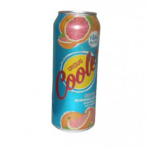 URSUS bere blonda fara alcool Cooler aroma de grepefruit 0.5 litri