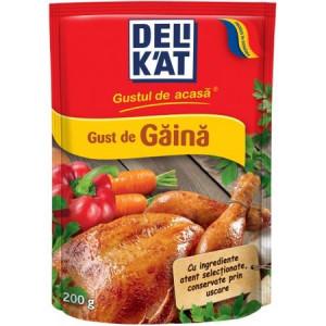 Baza pentru mancaruri cu gust de gaina 200g Delikat