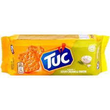 Biscuiti sarati cu aroma de smantana si ceapa 100g Tuc
