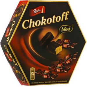 Caramele Intens Chokotoff 221g Poiana