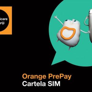 Cartela SIM Orange PrePay și tarife