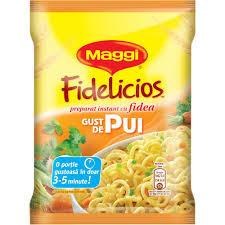 Fidea instant cu gust de pui Fidelicios 60g Maggi