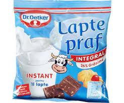 Lapte praf integral 380g Dr. Oetker
