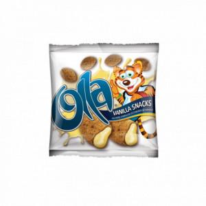 OLLA Snacks - Alunițe umplute cu cremă de vanilie 100g