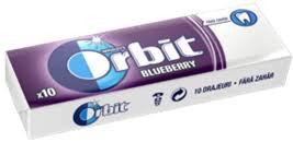 Orbit Blueberry 10 Pastile