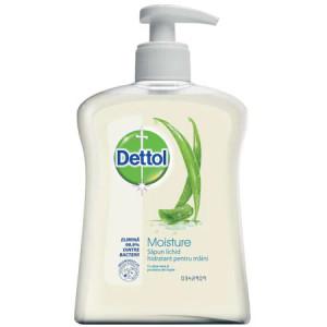 Sapun lichid antibacterian Dettol Moisture, 250 ml