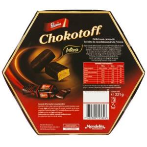 Caramele Intens Chokotoff 238g Poiana