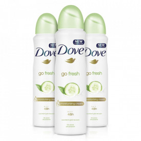 Deodorant antiperspirant spray Dove Fresh Touch, 150 ml
