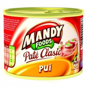 Mandy Pate Ficat Pui 200g
