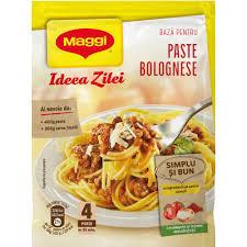 Mix de condimente pentru paste Bolognese Maggi Idea Zilei, 49g