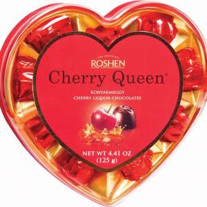 Roshen Praline Cherry Queen Cu Lichior Cirese 125G
