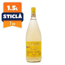Vin alb demidulce eticheta galbena 1.5l Cotnari