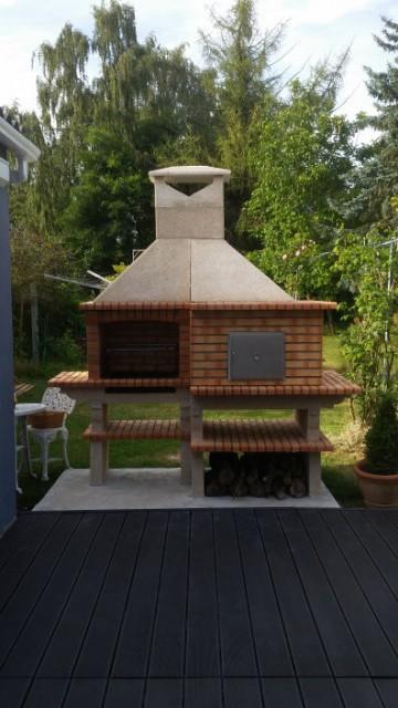 Plan four a pain en brique for Fabriquer un barbecue en brique refractaire