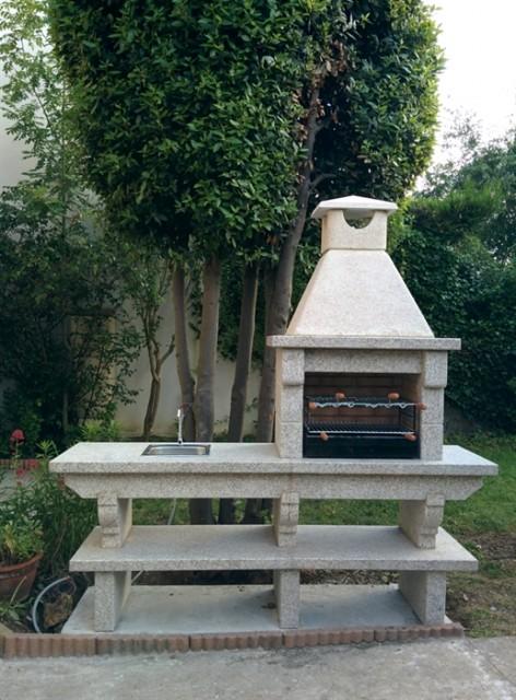 barbecue en granit et evier du portugal gr42f. Black Bedroom Furniture Sets. Home Design Ideas