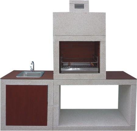 barbecue moderne avec evier av810f. Black Bedroom Furniture Sets. Home Design Ideas