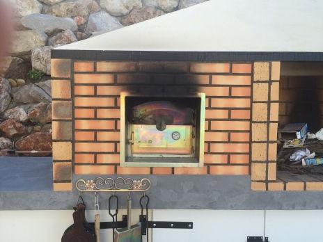 four a pizza et pain au feu de bois avaloir 100cm. Black Bedroom Furniture Sets. Home Design Ideas