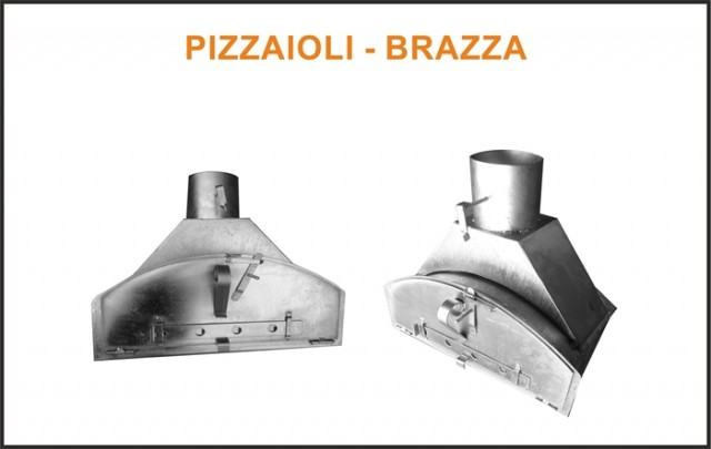 suppl ment porte en inox four bois pizzaioli brazza. Black Bedroom Furniture Sets. Home Design Ideas