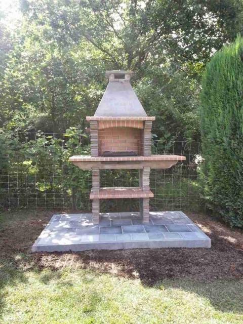 barbecue en pierre reconstitu e pr4030f. Black Bedroom Furniture Sets. Home Design Ideas