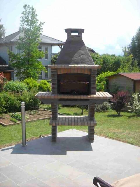 barbecue en pierre du portugal pas cher pr4210f. Black Bedroom Furniture Sets. Home Design Ideas