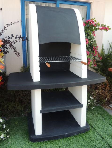 barbecue en pierre pour jardin ar8120f. Black Bedroom Furniture Sets. Home Design Ideas