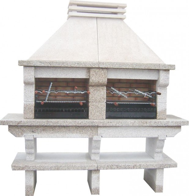 barbecue pierre granit gr55f. Black Bedroom Furniture Sets. Home Design Ideas