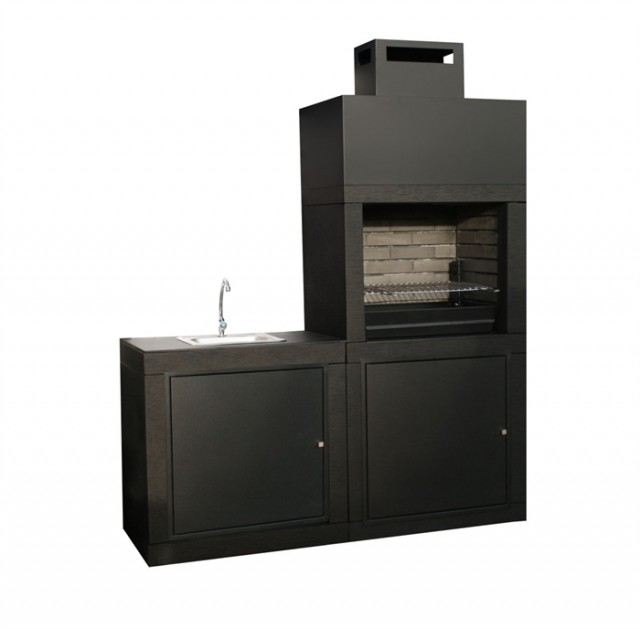 barbecue moderne avec evier av40m. Black Bedroom Furniture Sets. Home Design Ideas