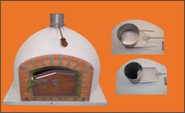 Four bois et pizza du portugal braga 90 cm - Four a pizza exterieur pas cher ...