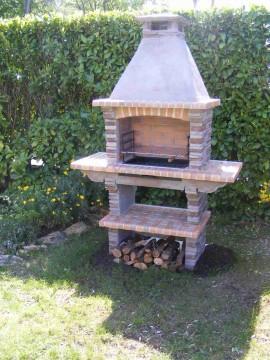 barbecue vertical pierre reconstituer pr4020f. Black Bedroom Furniture Sets. Home Design Ideas