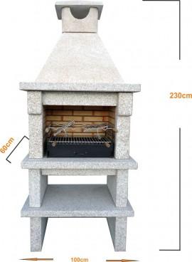 Barbecue en Granit Naturel GR50F