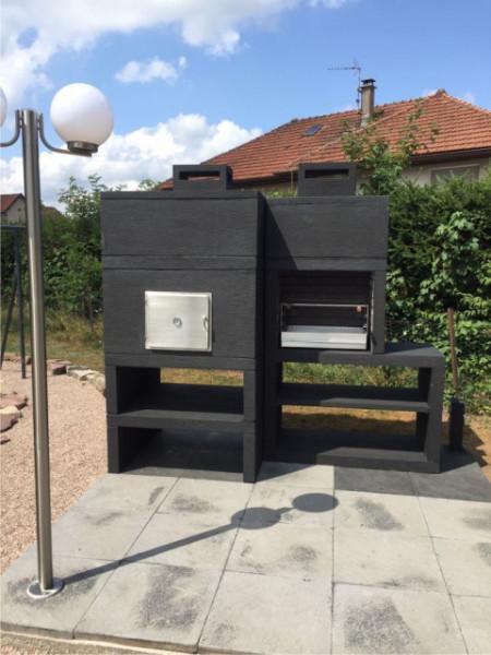 Barbecue Moderne avec Four AV85M