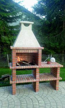 Barbecue Brique et Beton AV325F