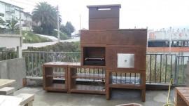Barbecue Moderne avec Four et Evier AV800M