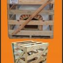 Four à pizza et pain en brique FAMOSI 120cm