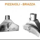 Supplément Porte en Inox Four à Bois PIZZAIOLI - BRAZZA