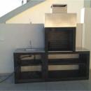 Barbecue moderne exterieur avec évier AV30M