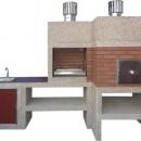 Barbecue Moderne avec Four et Evier AV910F