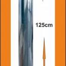 Cheminee Four a Bois avec Chapeaux INOX 100cm