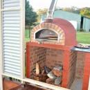 Four a bois a Pizza PIZZAIOLI 100cm