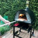 Four à Pizza et Pain MAXIMUS ARENA Noir avec Charriot Noir