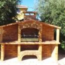 Barbecue rustique Portugais avec évier FR0086F