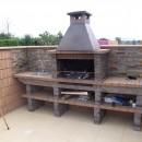 Barbecue Pierre Fixe pour votre jardin AV380F