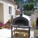 Four á bois et pizza Portugais BRAZZA 120cm