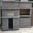 Kit barbecue fixe avec four PR4730F